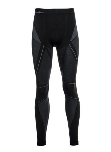 Panthzer  Extreme Muscle Uzun Alt Polygiene Erkek Içlik Siyah/Gri Renkli
